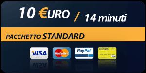 Pacchetto 10 Euro 14 minuti