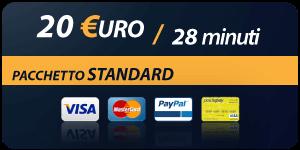 Pacchetto 20 Euro 28 minuti