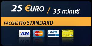 Pacchetto 25 Euro 35 minuti