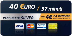 Pacchetto 40 Euro 57 minuti