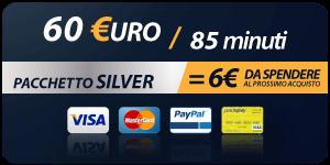 Pacchetto 60 Euro 85 minuti