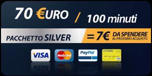Pacchetto 70 Euro 100 minuti
